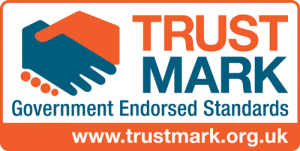 Trust mark logo qualification